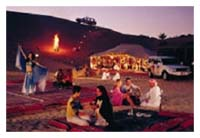 Desert & Sunset Safari with Bedouin Experience