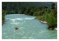 Rafting Adventure in Koprulu Canyon